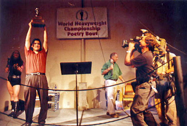 Sherman Alexie wins World Heavyweight Championship