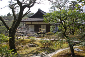 Ginkakuji Garden pavilion, Japan ~ Anne MacNaughton, 2016